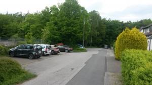 Parkplatz Buschland